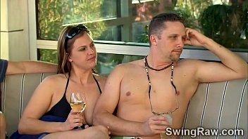 busty hotties in swingers reality show