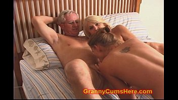 granny and grandpa fuck daughter and.