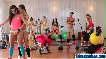 cute gym girls and teacher 3some(angel wicky&amp_emily clark&amp_erica.