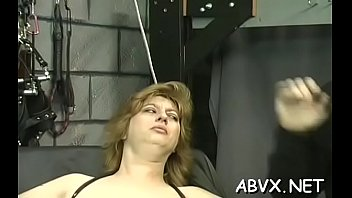bizarre bondage with hot mom and.