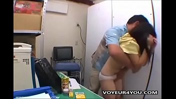 japanese couple fucking in office