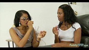 mother teaching daughter 410
