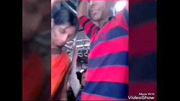 desi aunty biwi groped by local.