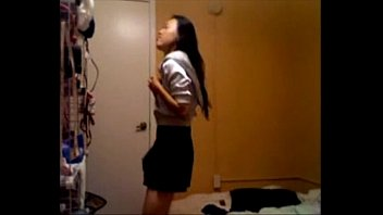 asian beauty strip on webcam - for more.