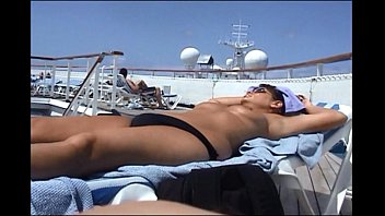 topless on cruise ship