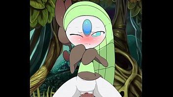 pokemon: meloetta rides her trainer'_s cock.