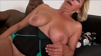 smoking hot gilf is about to get slammed.