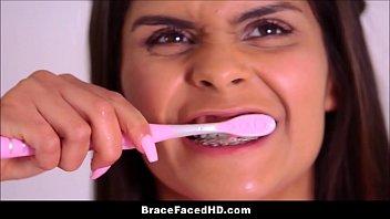 tiny teen with braces katya rodriguez.