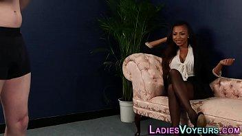 cfnm ebony mistress mocks