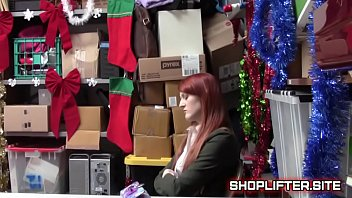 shoplifting redhead backroom interrogation