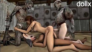 futanari group porno dead by daylight by dollx.