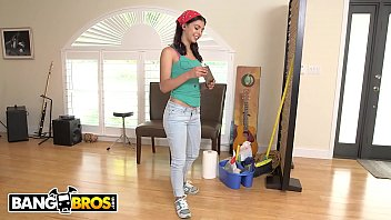 bangbros - young, skinny brazillian maid gina valentina.