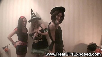 halloween lesbian party gone wild