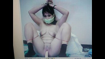 kidnapped slave mary jane is gagged with her panties!