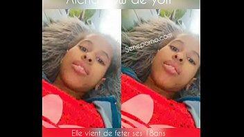 aicha sow a senegalese teenage student from dakar.