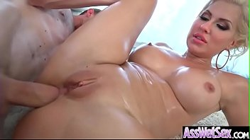 anal sex scene with hot big butt oiled.