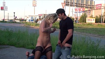 shocking public gangbang threesome group street sex with.