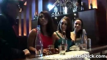 cfnm party girls tease small dick.
