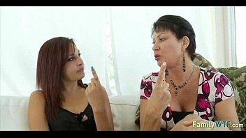 mother teaching daughter 266