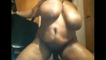black bbw with huge tits goes crazy on.