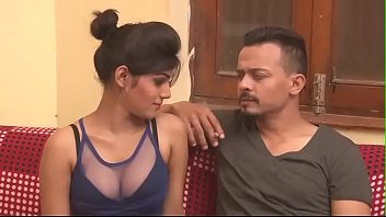 hot indian milf cleavage show boob press kissing.