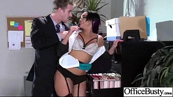(selena santana) big juggs office girl enjoy hard.