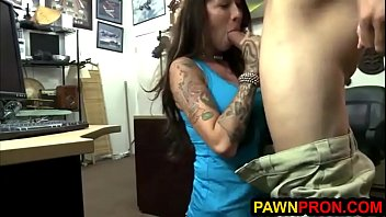 rock star chick gets banged and.