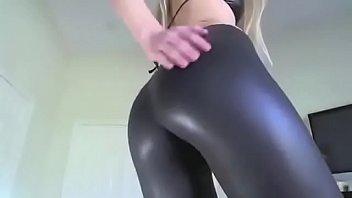 hot girl in hot leggins -.